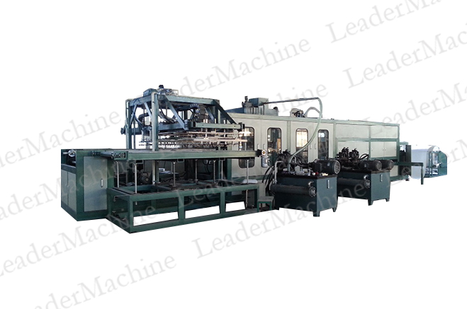 ROBOT STYLE PS FOAM FORMING MACHINE